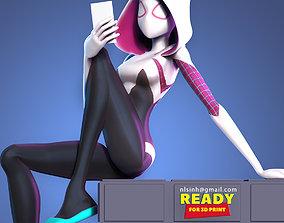 Spider Gwen 3 3D print model