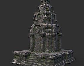 Ruin Ancient Temple - Khmer Architecture B 01 3D asset