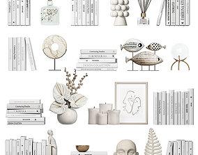 Decorative set 7 3D model