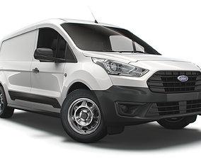 3D model Ford Transit Connect Leader L2 UK spec 2020