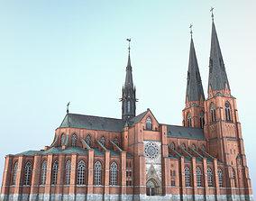 3D asset Arlanda Uppsala Cathedral