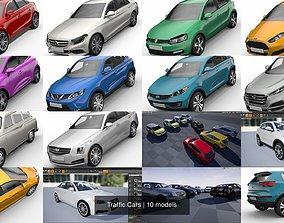 3D Traffic Cars