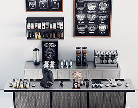 3D other Coffee Bar