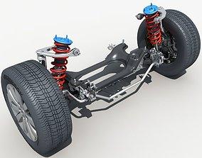 3D model Car Suspension 01