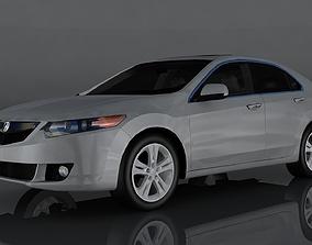 3D asset Acura TSX
