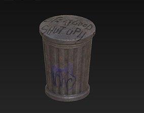 Bin Open 3D asset