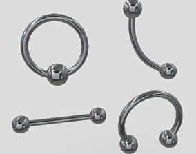 3D asset Piercings