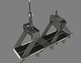 3D model Utility Bridge