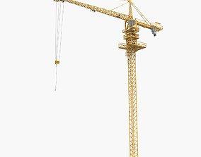 3D engineering Tower Crane