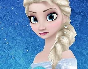 Elsa Queen - Frozen 3D model