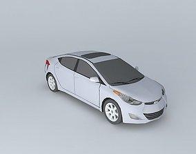 2011 Hyundai Elantra v2 3D asset