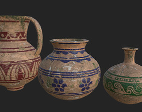 Old Pottery PBR 3D asset