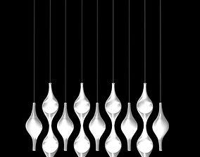 Cini and Nils ACQUA LED pendant lamp 3D model
