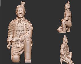 3D printable model Terra-cotta Warrior