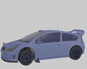 3D model Citroen C4 Rally Car