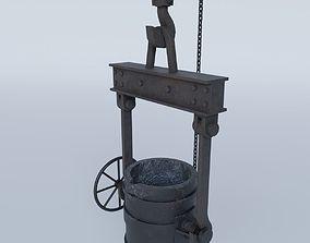 3D model Foundry Cauldron