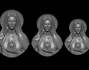 3D print model Mother Mary