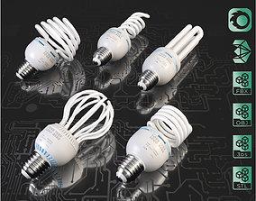 3D model Energy saving light bulbs