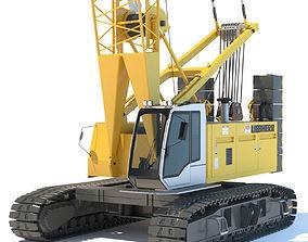 Liebherr Crawler Crane LR 1100 3D