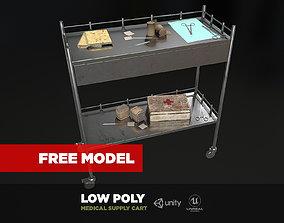 3D model Free Medical Supply Cart