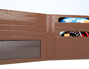PERSONAL CREDIT CARD WALLET HOLDER 3D