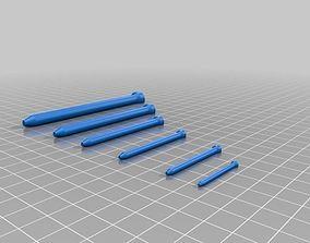 3D printable model nail nails