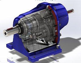 gearbox 3D model GearBox