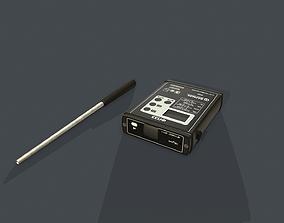 3D asset Low Poly Portable multi gas analyzer