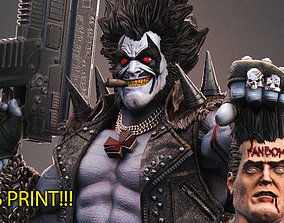 Lobo DC - collectible 3Dprint