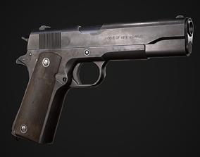 Colt M1911A1 3D asset
