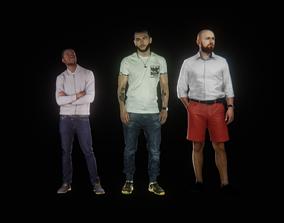 Animated Men Pack 3D