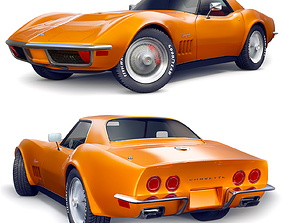 3D model Chevrolet 1968 Corvette Stingray