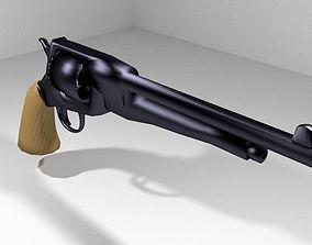 Revolver - Handgun Type 3 3D model