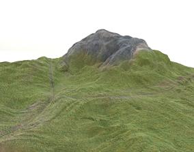 3D model PBR TERRAIN