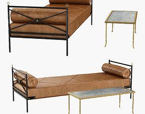 Bronze Table by Maison Bagues and arbus 3D model