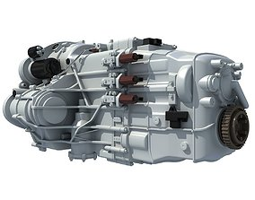 3D model Transmission Gearbox