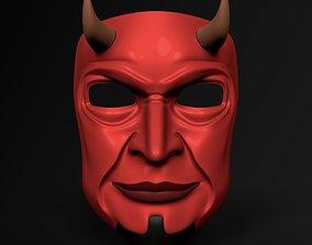 3D asset Demon Mask