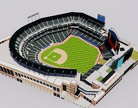 soccer Citi Field - New York Mets Baseball Stadium 3D