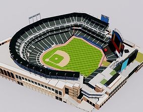 Citi Field - New York Mets Baseball Stadium 3D