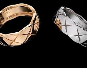 sterling Wedding ring 3D print model