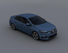 Renault Megane 2017 3D model