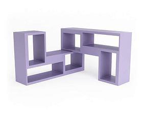Purple Shelf Casamania 3D