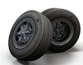 Truck highpoly wheels 3D model