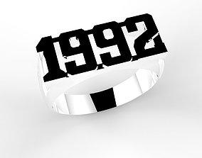 ring 1992 3D printable model