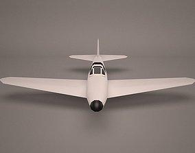 air 3D model Military Aircraft