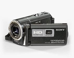 3D asset Sony HDR-PJ580 camcorder