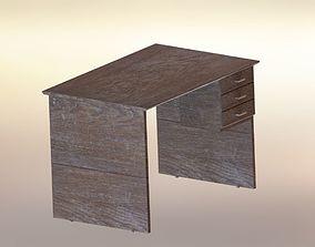 3D print model Old Desktop Table