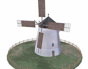 Windmill Retz Austria 3D model