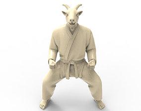 3D print model Goat Kiba Dachi Stance