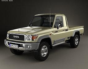 Toyota Land Cruiser Single Cab Pickup VXR 3D